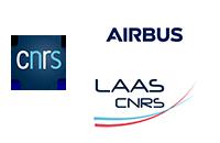 Partners logo : Airbus, CNRS, LAAS